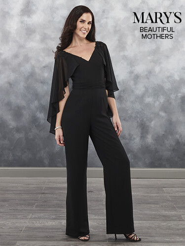 Beautiful Mothers pantsuit  MB8034 in NAVY size 16
