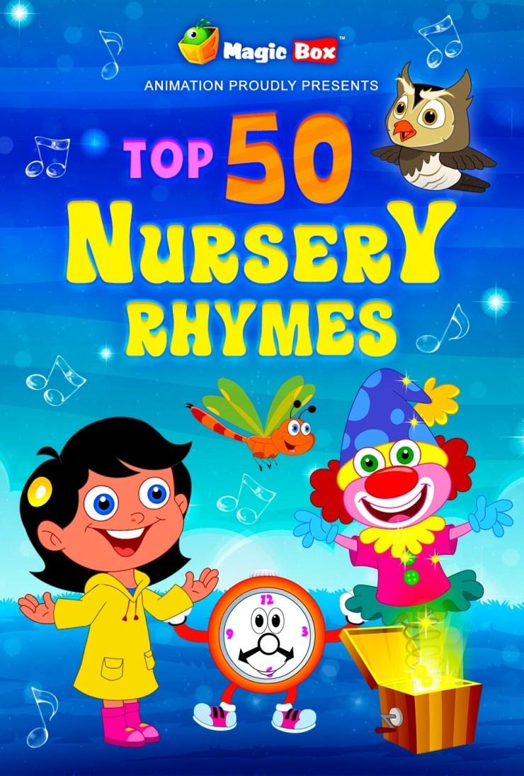 Top 50 English Nursery Rhymes