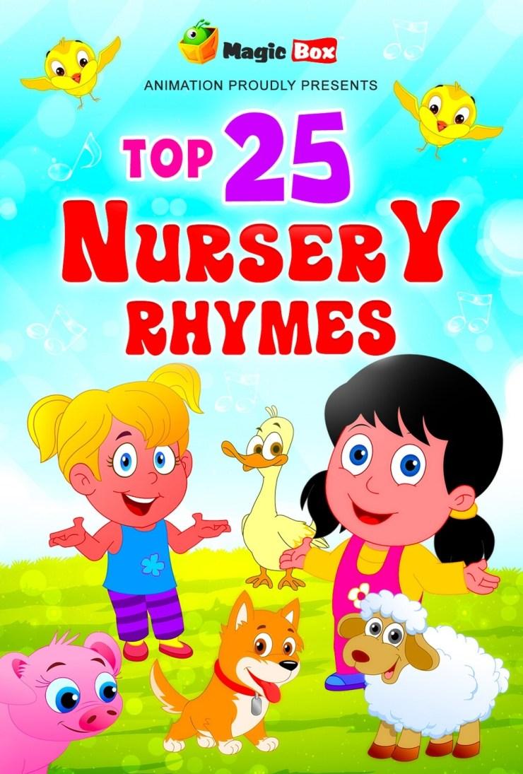 Top 25 English Nursery Rhymes