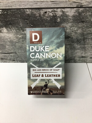 Leather & Leaf Soap