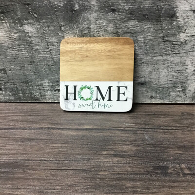Home Sweet Home Coaster
