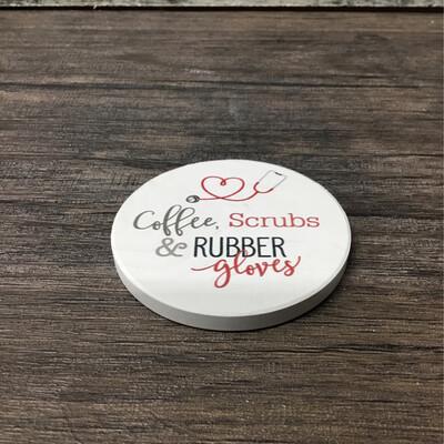 Coffee Scrubs Coaster