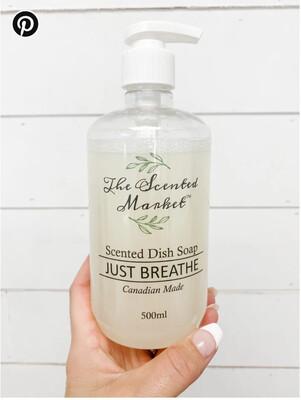 Dish Soap Just Breathe