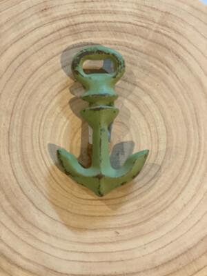 Anchor Bottle Opener / Green