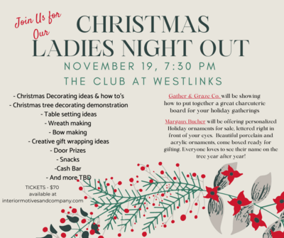 Christmas Ladies Night Out