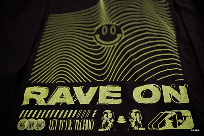 RAVE ON | LIMITED EDITION | Long sleeves T-Shirt - GREEN - Numbered 27 to 50