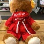 Grad Bear (Red)