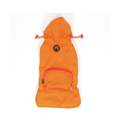 77 Raincoat- Orange Dog