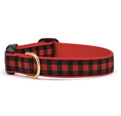 88 Buffalo Check Collar- Dog M