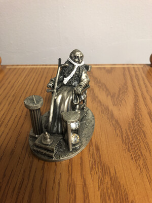 354 old Father Time pewter