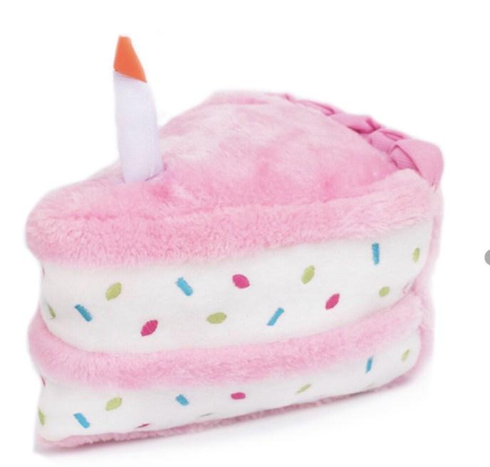 69 Birthday Cake- Dog Toy