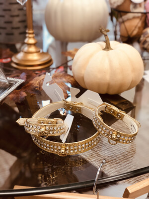 702 Glam Collar- Gold 20