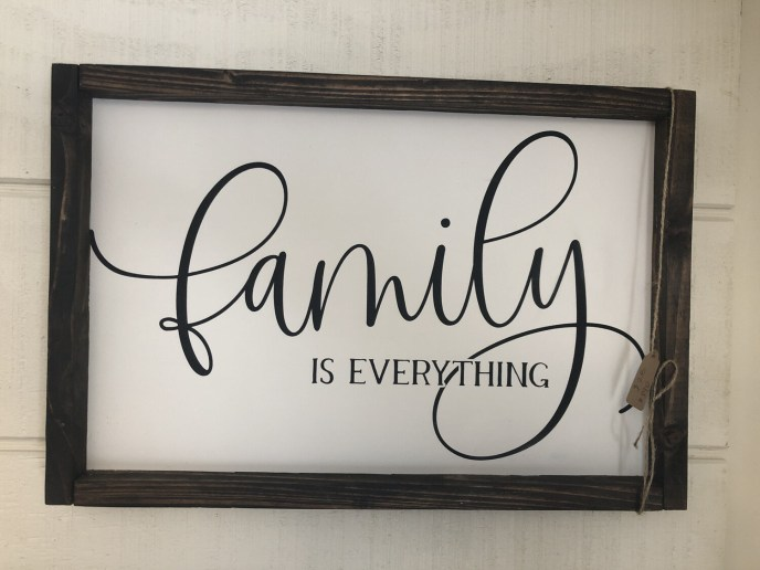 (107)  Family is Everything