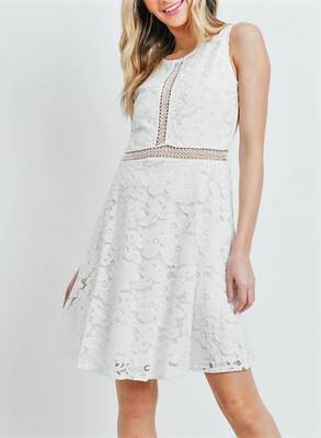 135 Ivory Lace Dress
