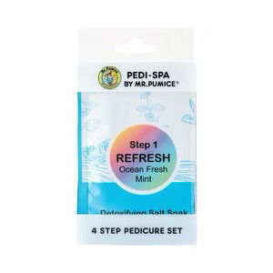 (633) 4-STEP PEDICURE SPA SET - ocean fresh
