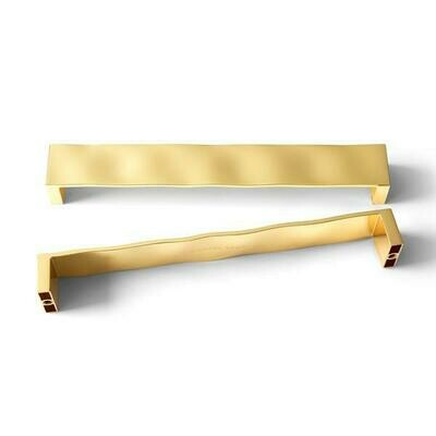 MICHAEL ARAM RIPPLE GOLD TONE CABINET/APPLIANCE PULL -12