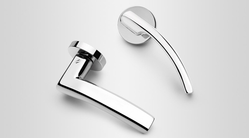 Colombo Design Door Lever OLLY Handle LC61NA-Single Dummy