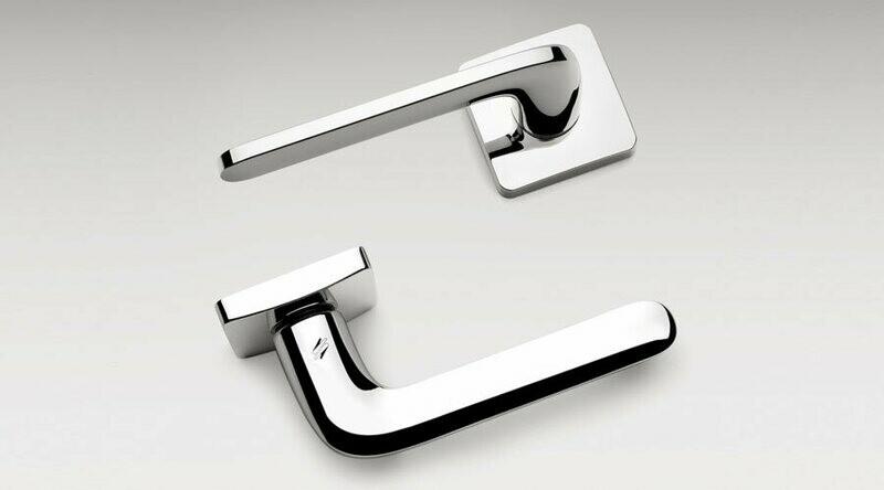 Colombo Design Door Lever ROBOQUATTRO/S -ID51NA- DOUBLE DUMMY