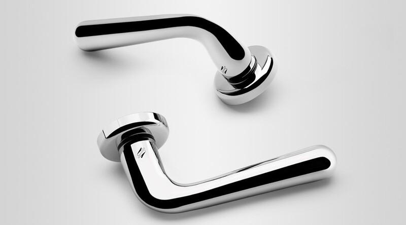 Colombo Design Door Lever ROBODUE Handle CD51NA-PASSAGE