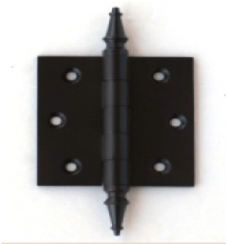 Deco & Deco Decorative Steeple Tip Door Hinges 3