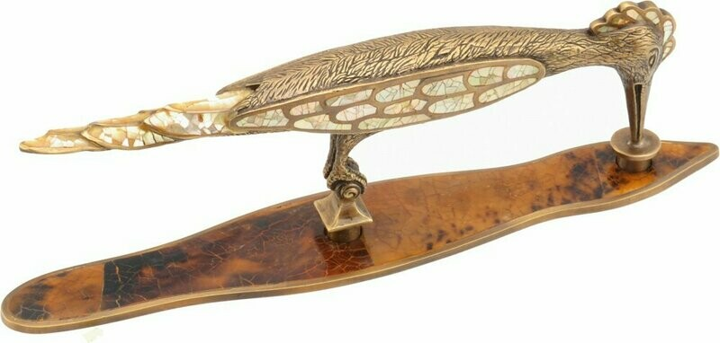 Schaub & Company Symphony  Nature Collection Cabinet  Pull, Mother of Pearl/Penshell Woodpecker, 92 mm cc
