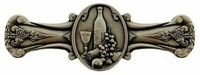 Notting Hill Cabinet Pull Best Cellar (Wine) Brite Brass 4