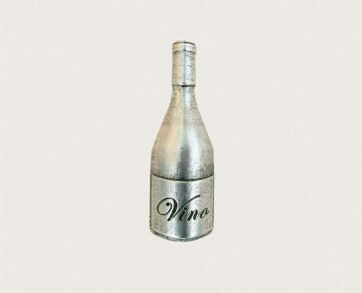 Emenee Decorative Cabinet Hardware Wine Bottle Knob 1-7/8