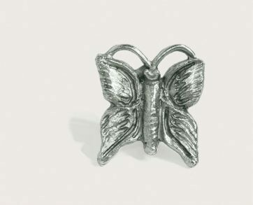 Emenee Decorative Cabinet Hardware Butterfly 1-1/2