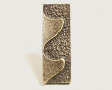 Emenee Decorative Cabinet Hardware Wave Facing Left 2
