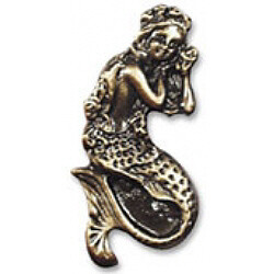 Buck Snort Lodge Decorative Hardware Mermaid Cabinet Knob