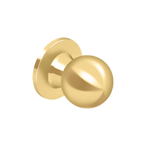 Deltana Architectural Hardware Residential Locks: Home Series Round Knob Dummy each