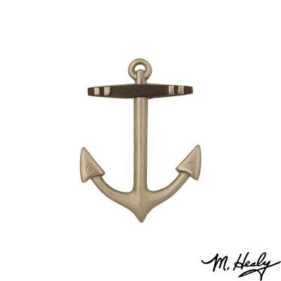 Michael Healy Designs Anchor Door Knocker - Nickel Silver - Standard