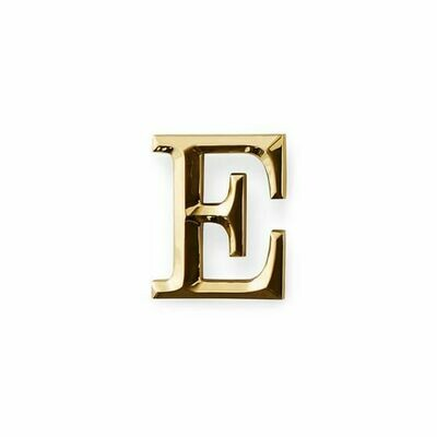 Michael Healy Designs Letter E Door Knocker - Brass