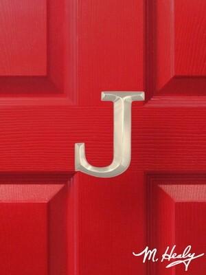 Michael Healy Designs Letter J Door Knocker - Brushed Nickel