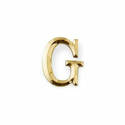 Michael Healy Designs Letter G Door Knocker - Brass