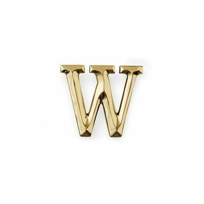 Michael Healy Designs Letter W Door Knocker - Brass