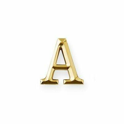 Michael Healy Designs Letter A Door Knocker - Brass