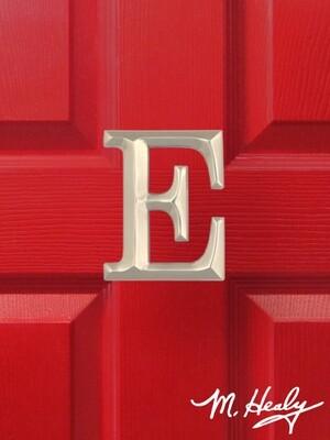 Michael Healy Designs Letter E Door Knocker - Brushed Nickel