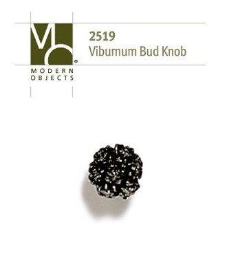 Modern Objects Designer Hardware Viburnum Bud Cabinet Knob