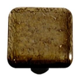 Hot Knobs Metallic Collection Glass Cabinet Knob Gold Irid