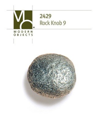 Modern Objects Designer Hardware Rock 9 Cabinet Knob
