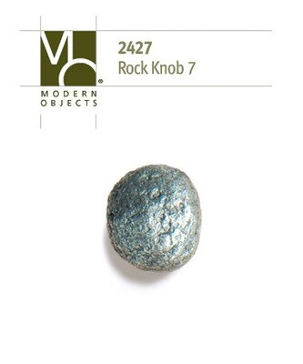 Modern Objects Designer Hardware Rock 7 Cabinet Knob