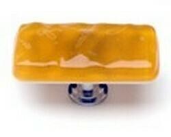 Sietto Glass Cabinet Knobs  Glacier Marigold