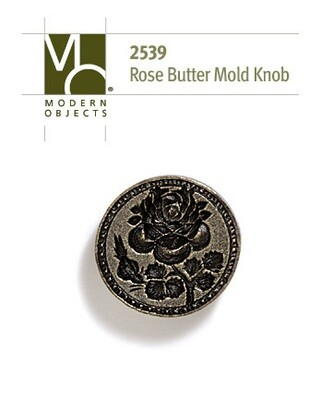 Modern Objects Designer Hardware Rose Butter-mold Cabinet Knob