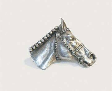 Emenee Decorative Cabinet Hardware Horse Head 1-3/4