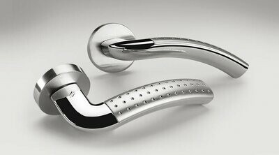 Colombo Design Door Lever MILLA Handle LC41NA -Key Lock/Dead Bolt