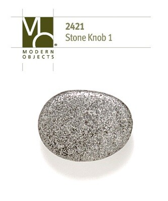 Modern Objects Designer Hardware Stone 1 Cabinet Knob