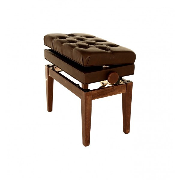 Symphony - Adjustable Piano Stool - Polished Walnut 00045