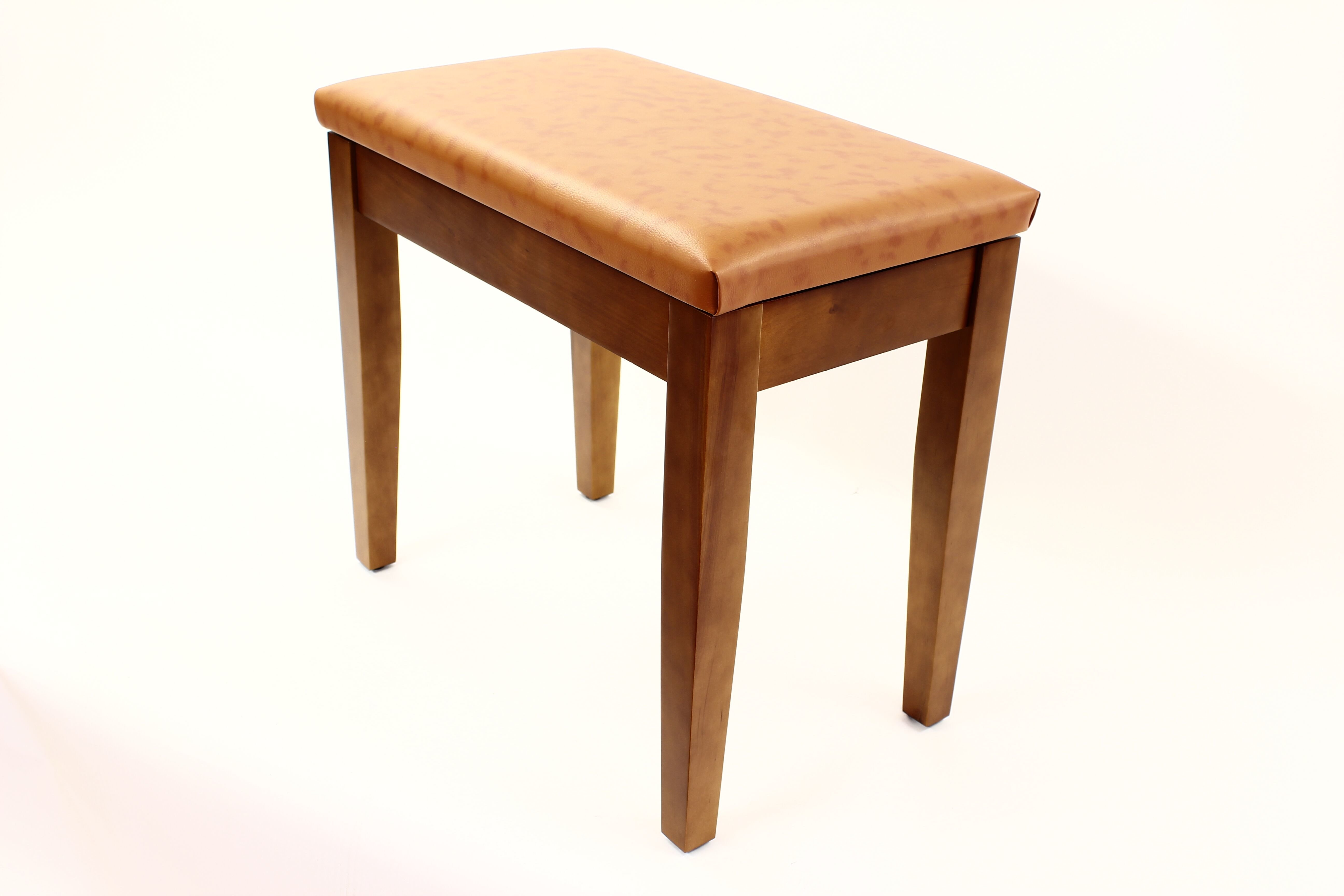 Coda Piano Stool Walnut with Storage