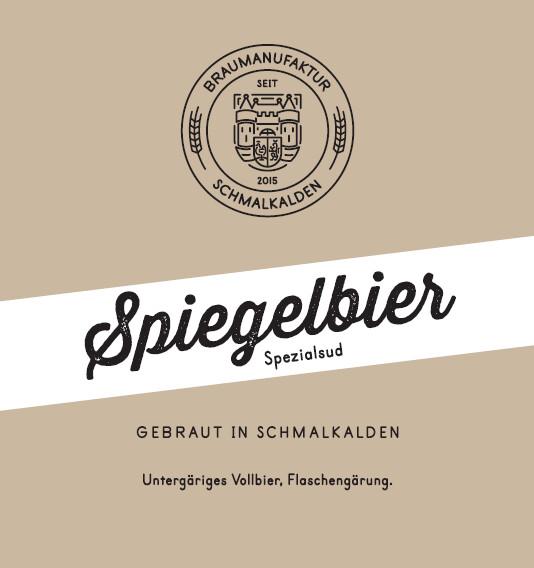 Spiegelbier 0,75 Liter
